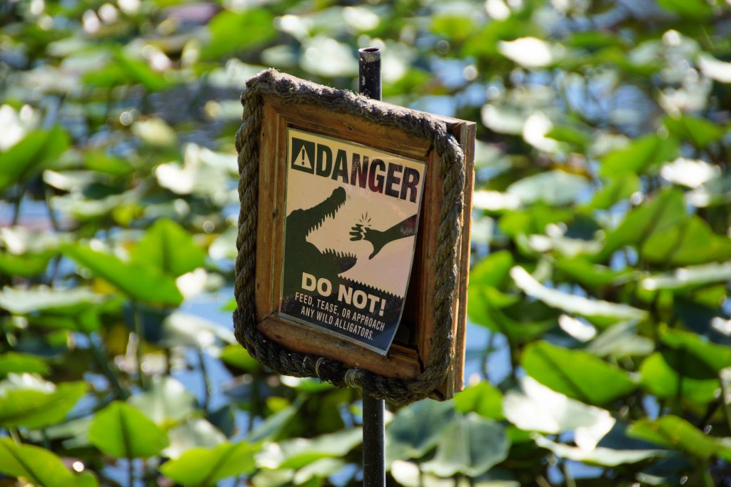 everglades warning