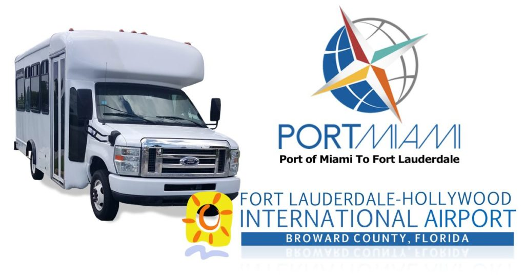 port of miami to fort lauderdale airport